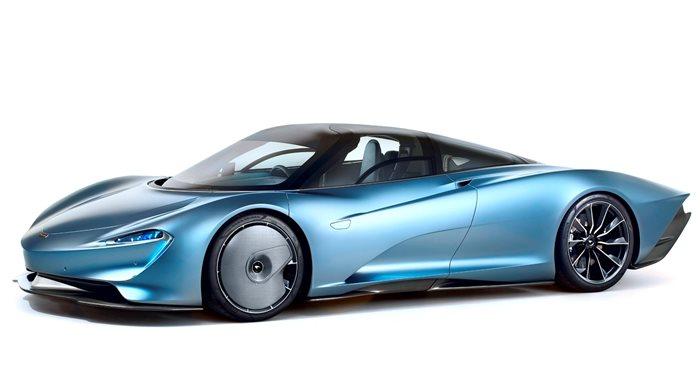 2019 McLaren Speedtail Coupe thumbnail
