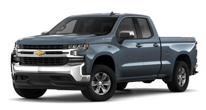 "2019 Chevrolet Silverado 1500 Double Cab 4WD Double Cab 147"" Custom Trail Boss thumbnail"