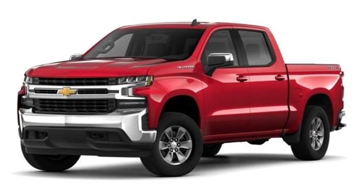 2019 Chevrolet Silverado 1500 2WD Double Cab Work Truck thumbnail