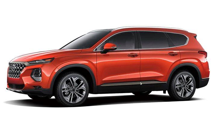 2019 Hyundai Santa Fe SEL 2.4L FWD thumbnail
