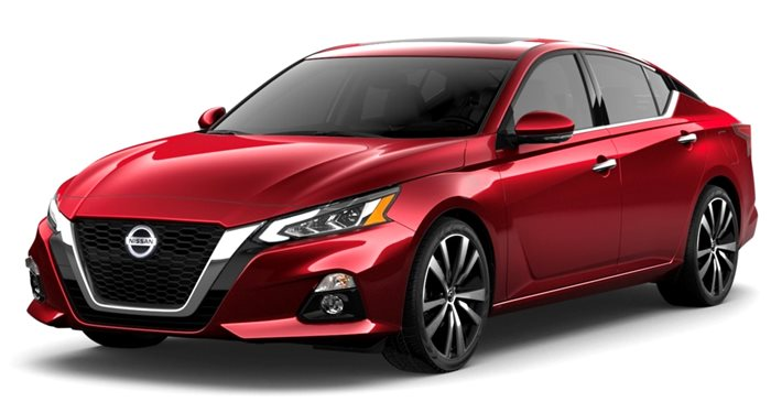 2019 Nissan Altima 2.0 Platinum Sedan thumbnail