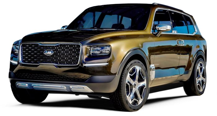 2020 Kia Telluride LX AWD thumbnail