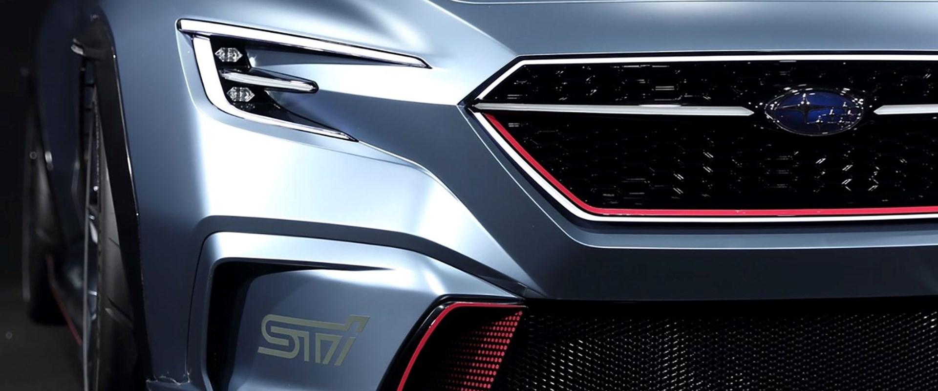 Subaruu0027s Latest Sports Car Concept Previews The New WRX STI   CarBuzz