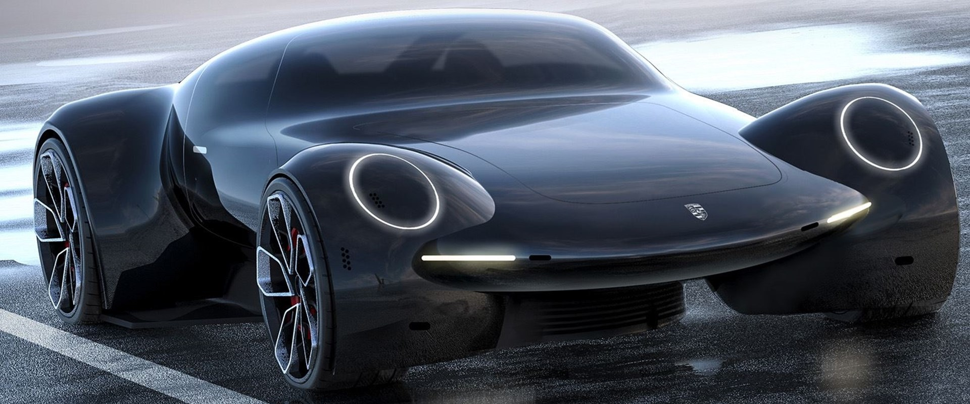 Would You Be Mad If The Porsche's Next Supercar Looked Like This ...