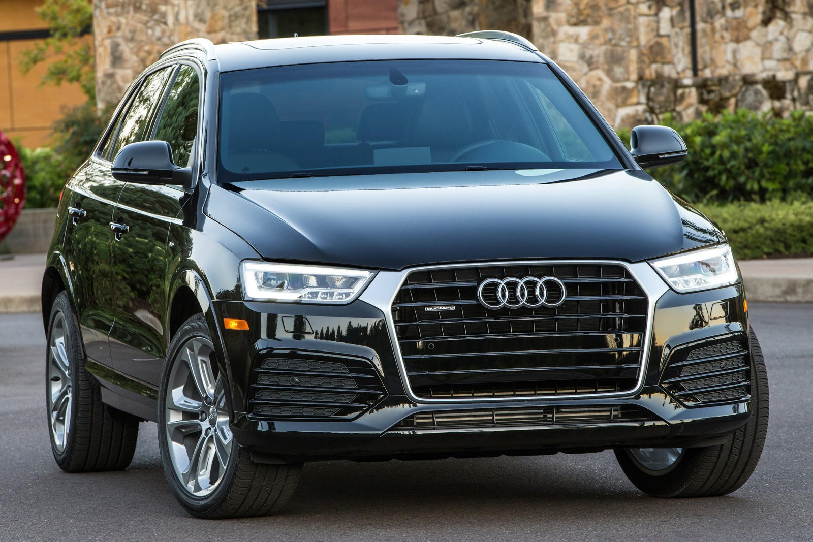 2018 audi q3 review trims specs and price carbuzz. Black Bedroom Furniture Sets. Home Design Ideas