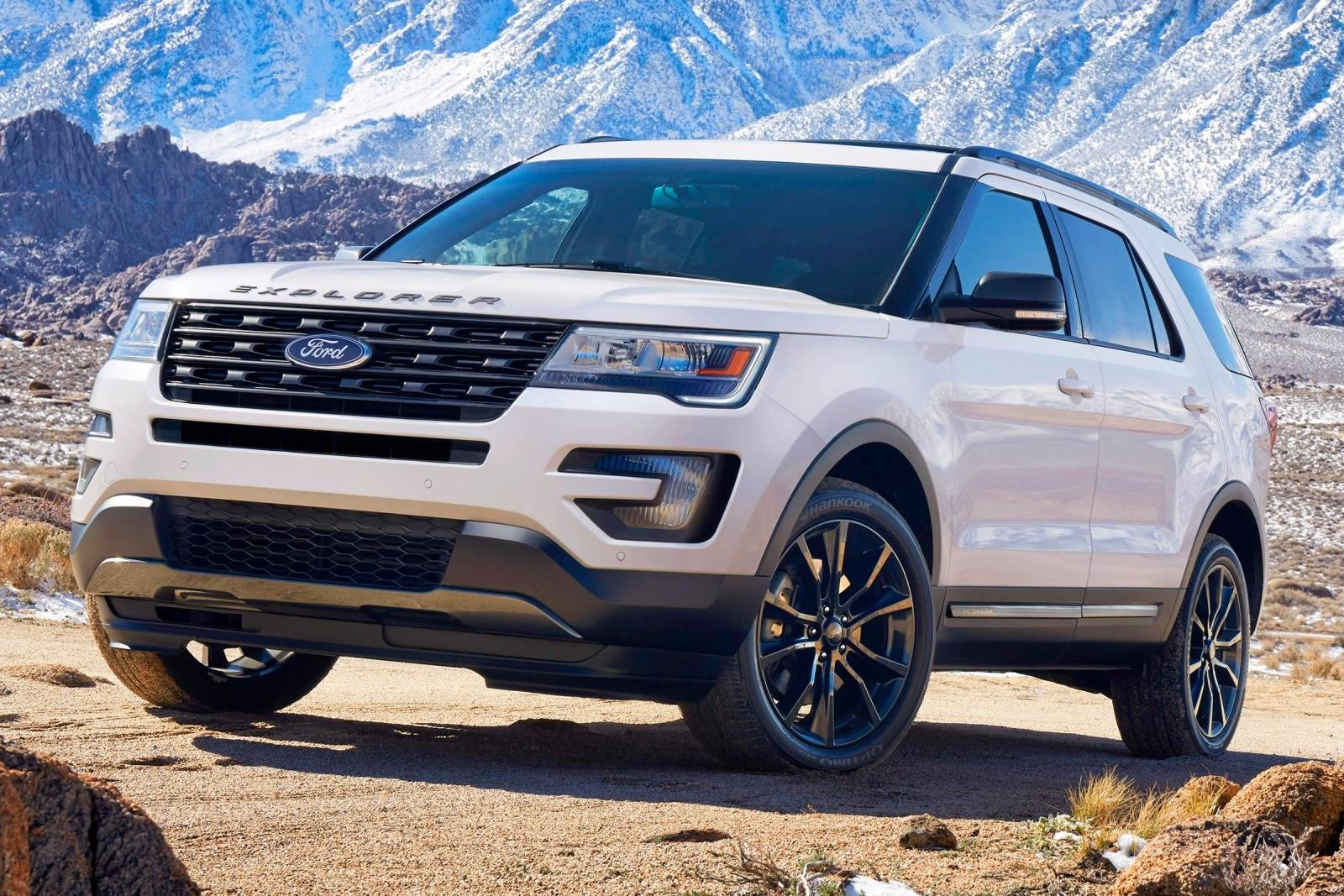 2018 ford explorer suv review trims specs and price. Black Bedroom Furniture Sets. Home Design Ideas