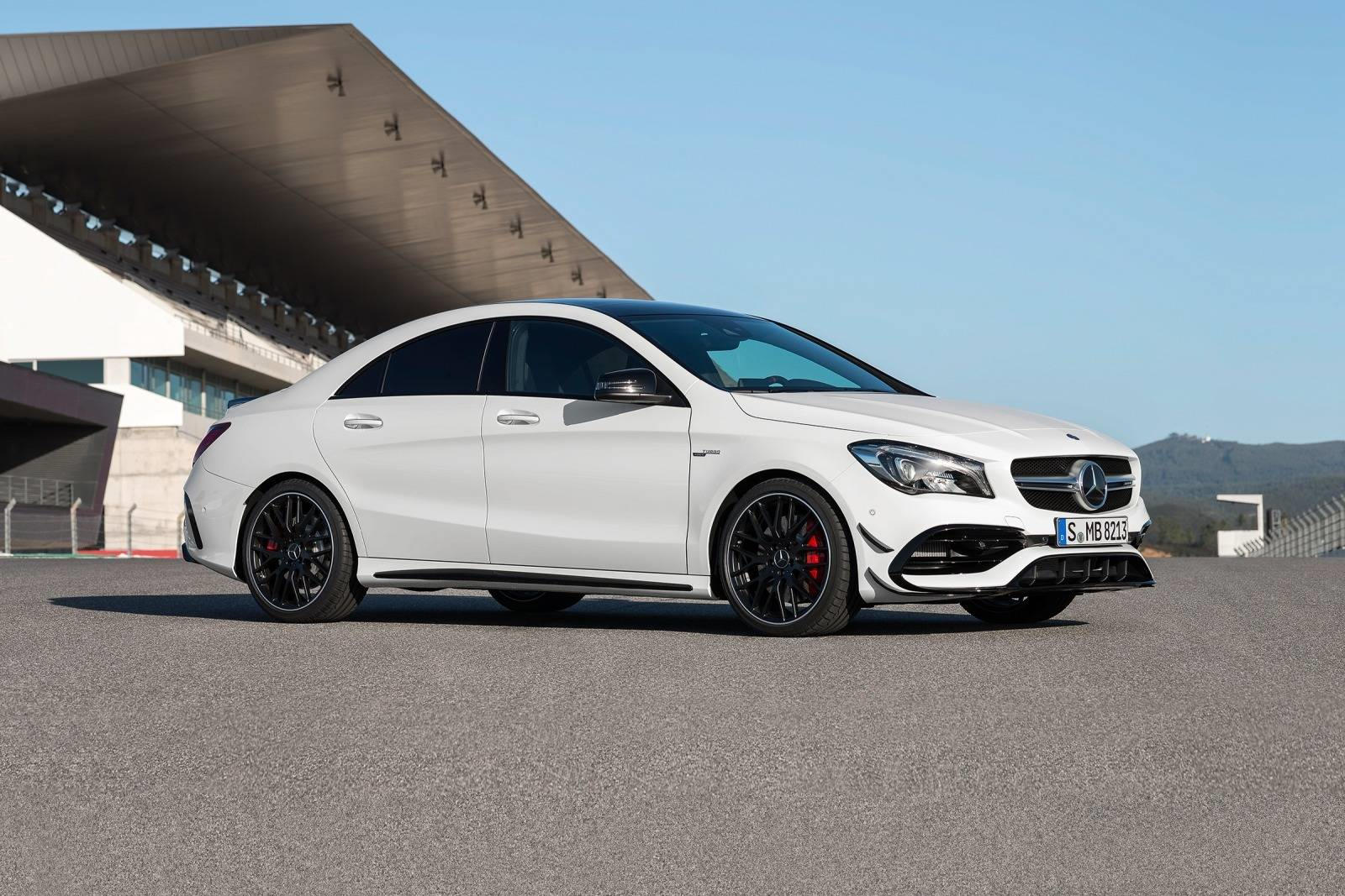 2018 mercedes amg cla45 coupe review trims specs and price carbuzz