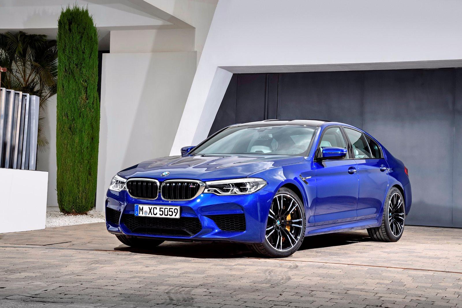 2018 BMW M5 Sedan Review,Trims, Specs And Price