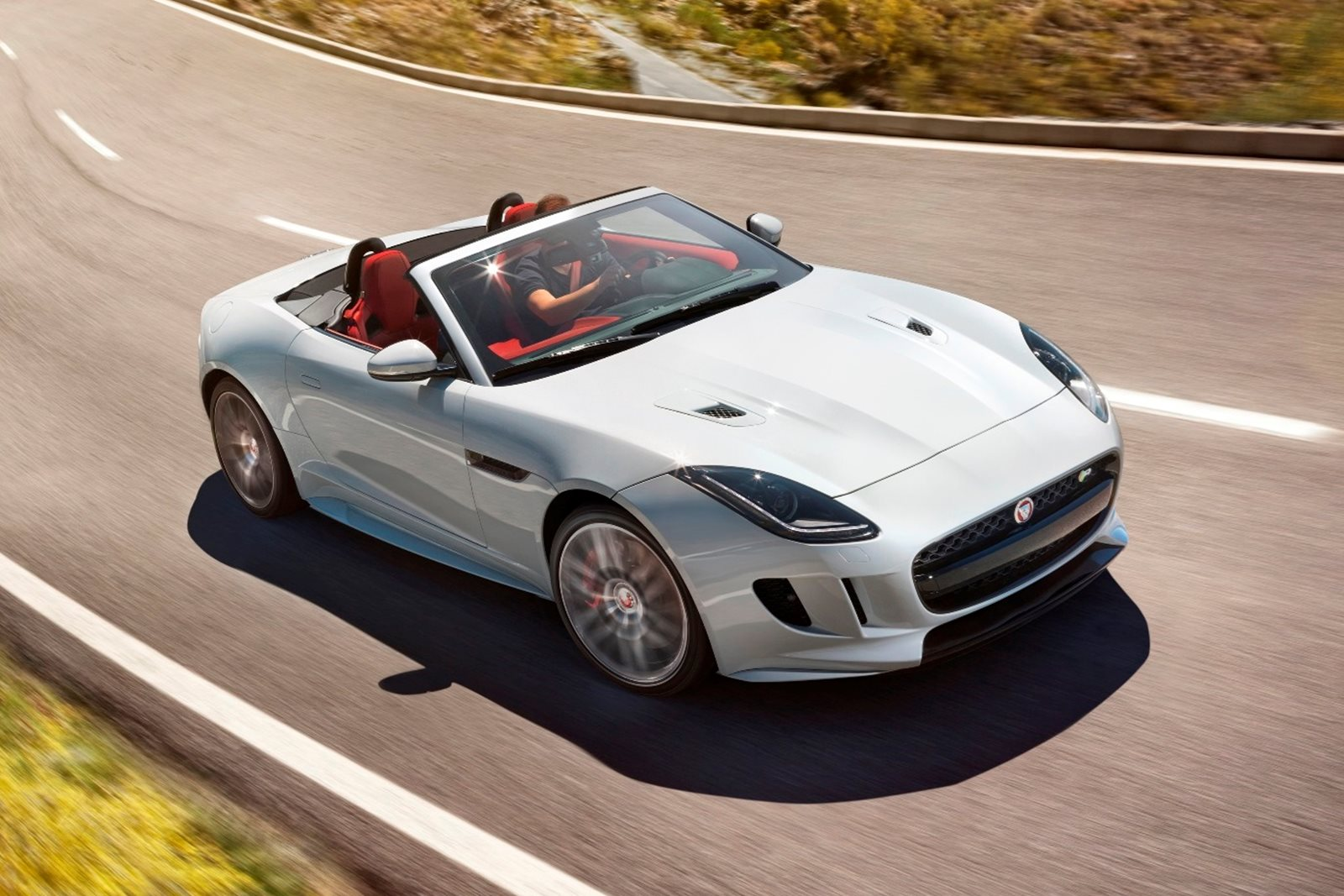 magazine quarter drive three show svr jaguar f review rear price more type first news automobile convertible