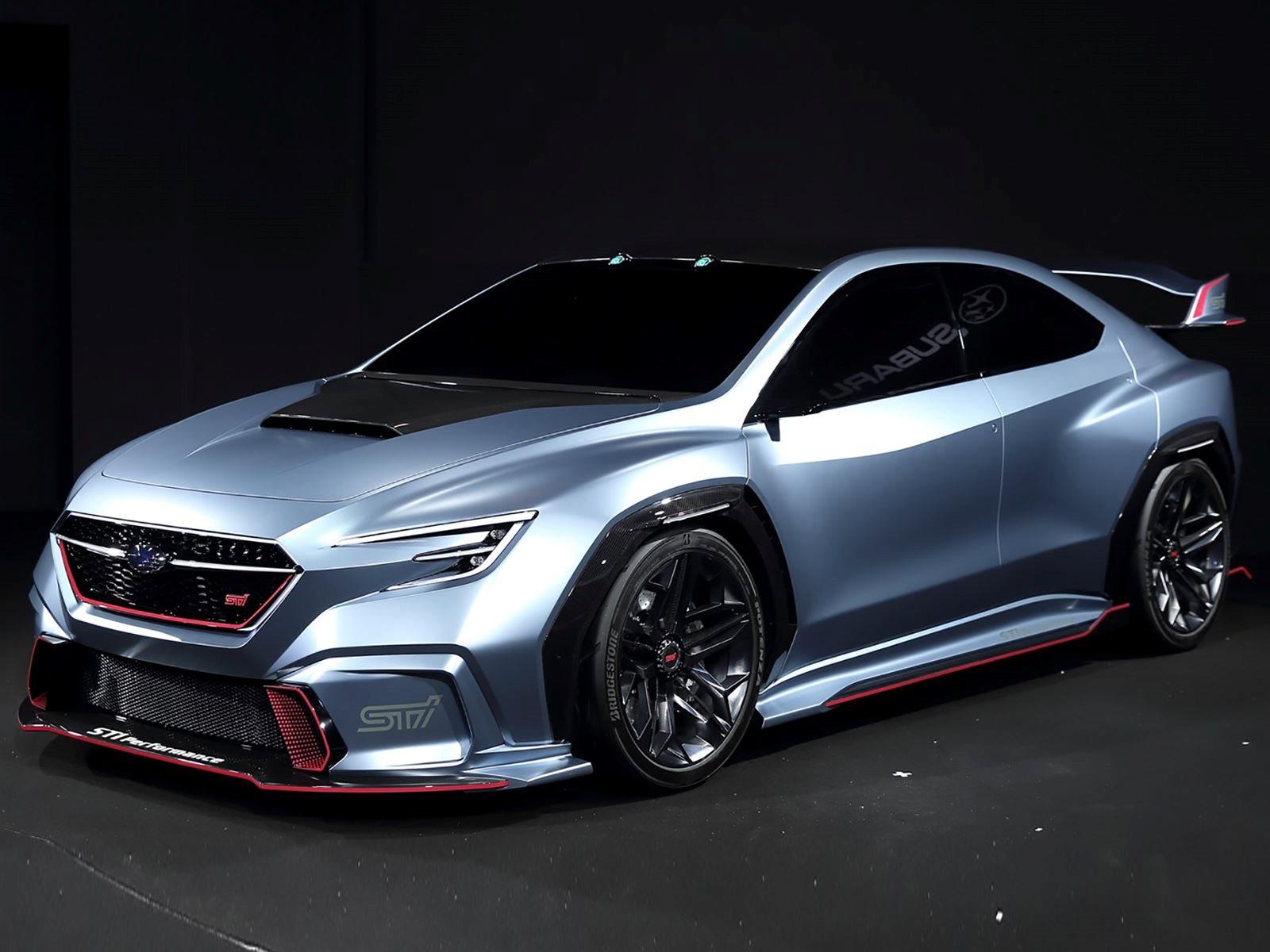 Subaru S Latest Sports Car Concept Previews The New Wrx Sti Carbuzz