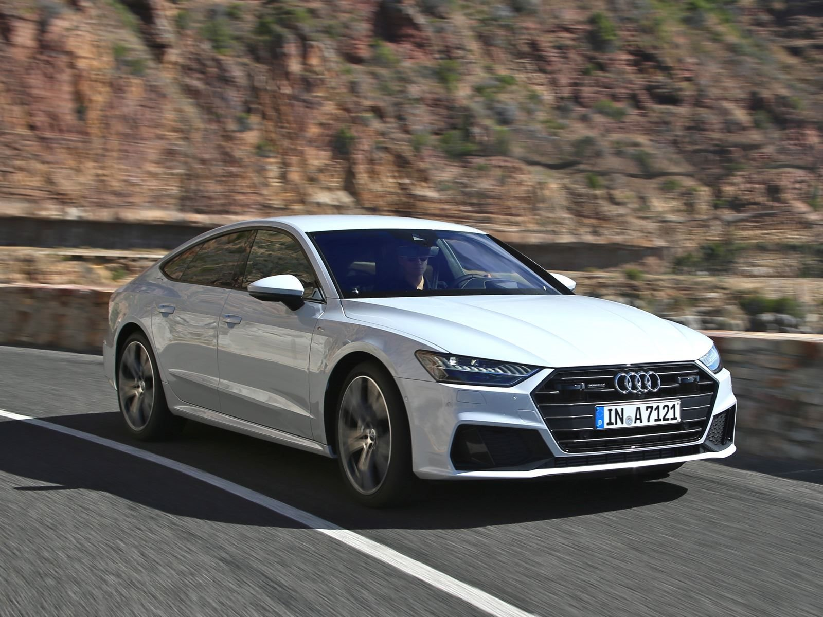 2018 audi a7 sportback first drive review the pursuit of wow carbuzz. Black Bedroom Furniture Sets. Home Design Ideas