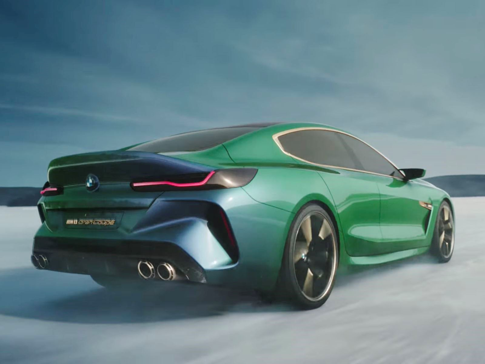 BMW M8 Gran Coupe Concept Looks Even Better In Action - CarBuzz