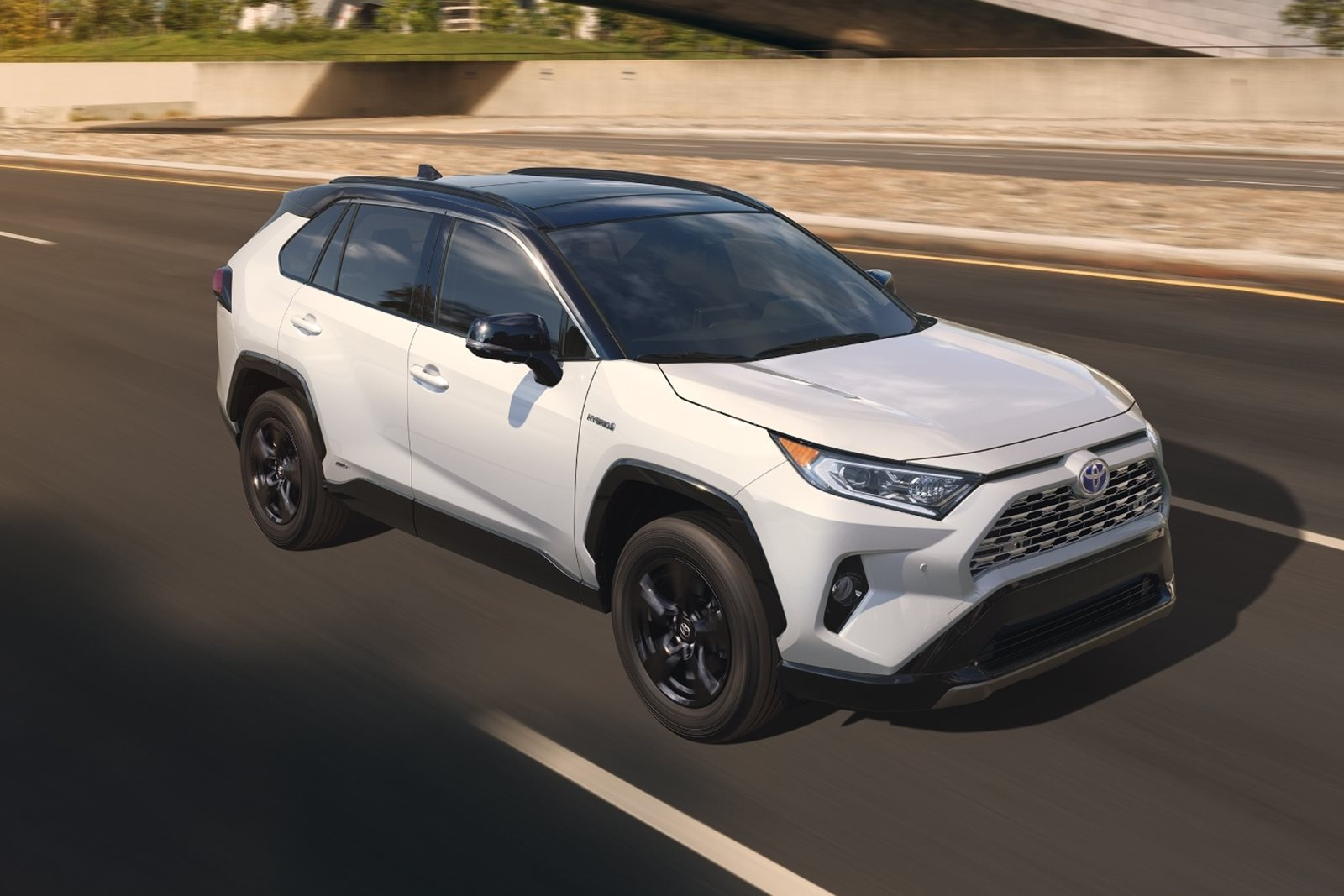 2019 toyota rav4 first look review appealing to the masses carbuzz. Black Bedroom Furniture Sets. Home Design Ideas
