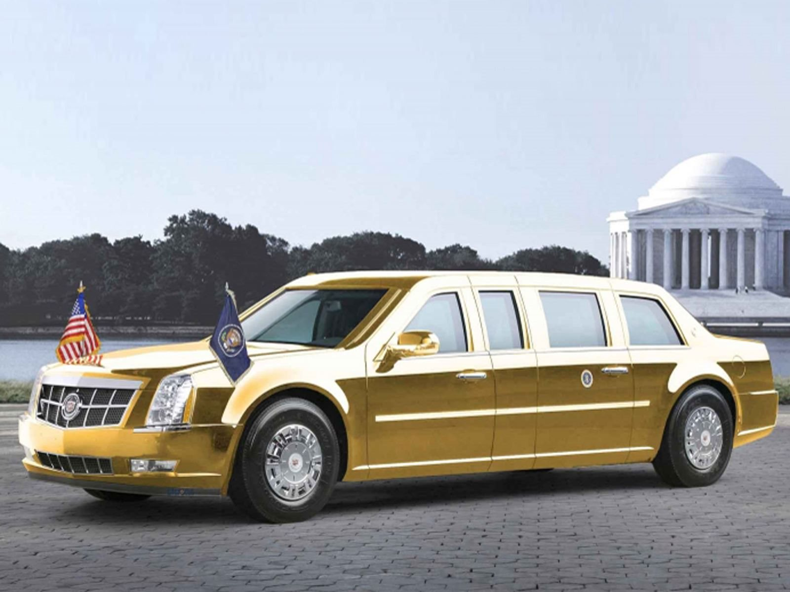 Government Service Gold Car