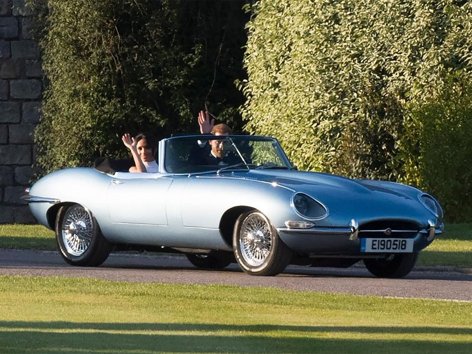 Did You Spot The Electric Jaguar E Type At The Royal