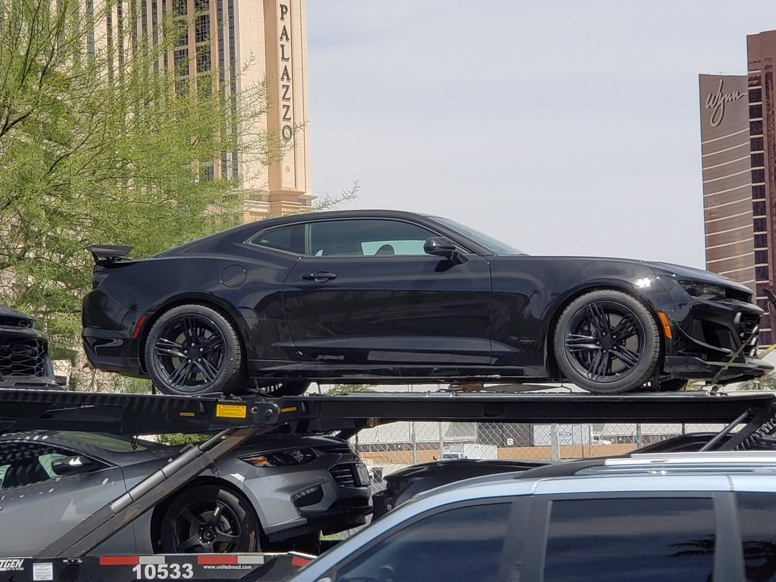 2019 Chevrolet Camaro Zl1 Caught Completely Undisguised