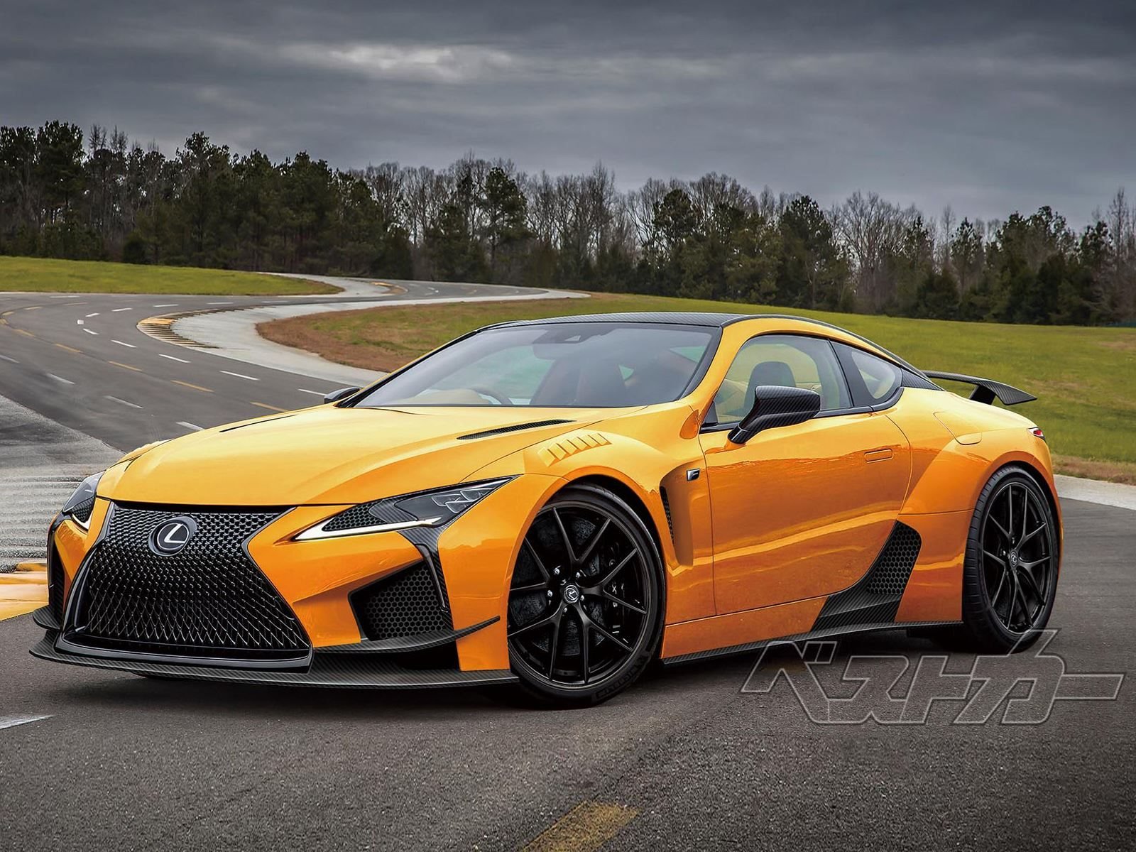 600-HP Lexus LC F Won't Join The Party Until 2022? - CarBuzz