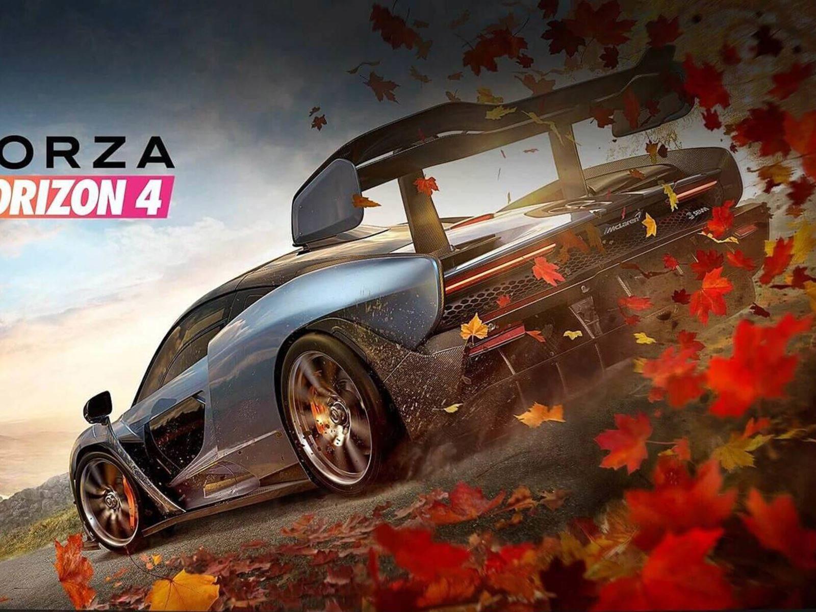 forza horizon 4 features the mighty mclaren senna - carbuzz