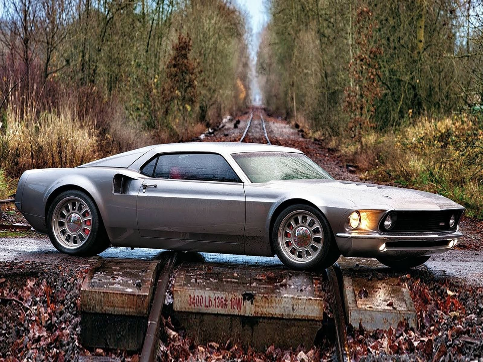 Ford Mustang Mach  Fitted With Ford Gt Engine Upped To  Hp Carbuzz