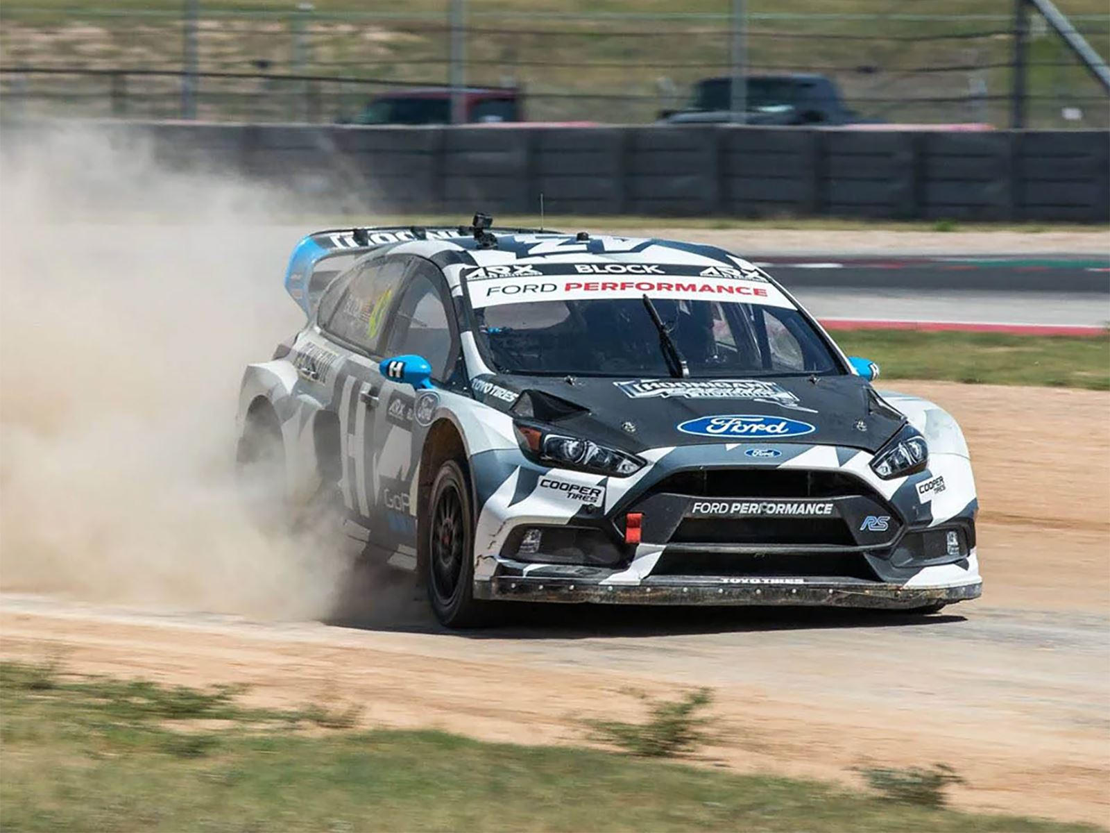Ken Block Reveals New 600 Hp Ford Focus Rs Rx Rallycross Car Carbuzz