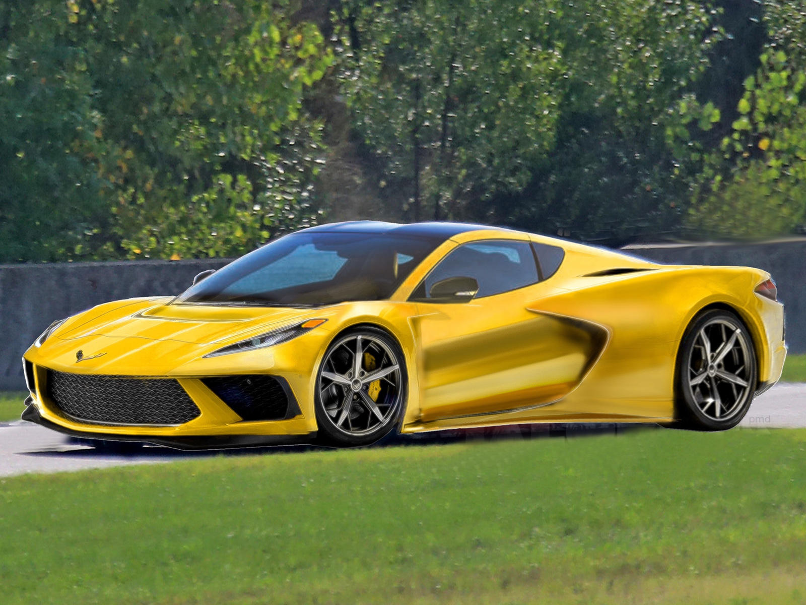 this is the best 2020 mid engine c8 corvette rendering so far carbuzz. Black Bedroom Furniture Sets. Home Design Ideas