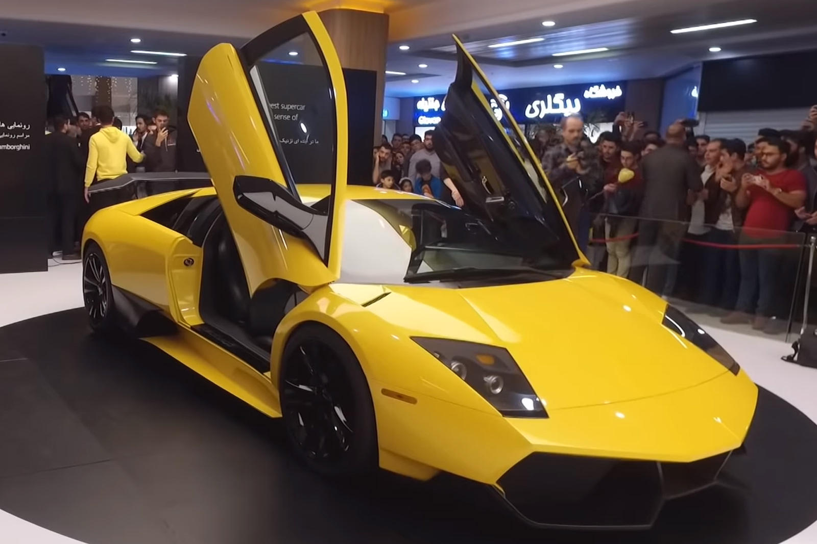 Fake Lamborghini Murcielago Sv Reverse Engineered By Iran Carbuzz