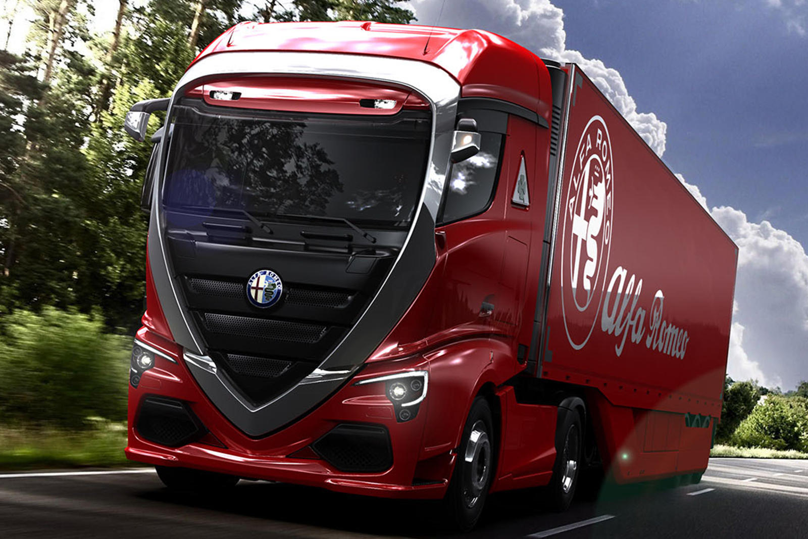 this is why alfa romeo should build trucks - carbuzz