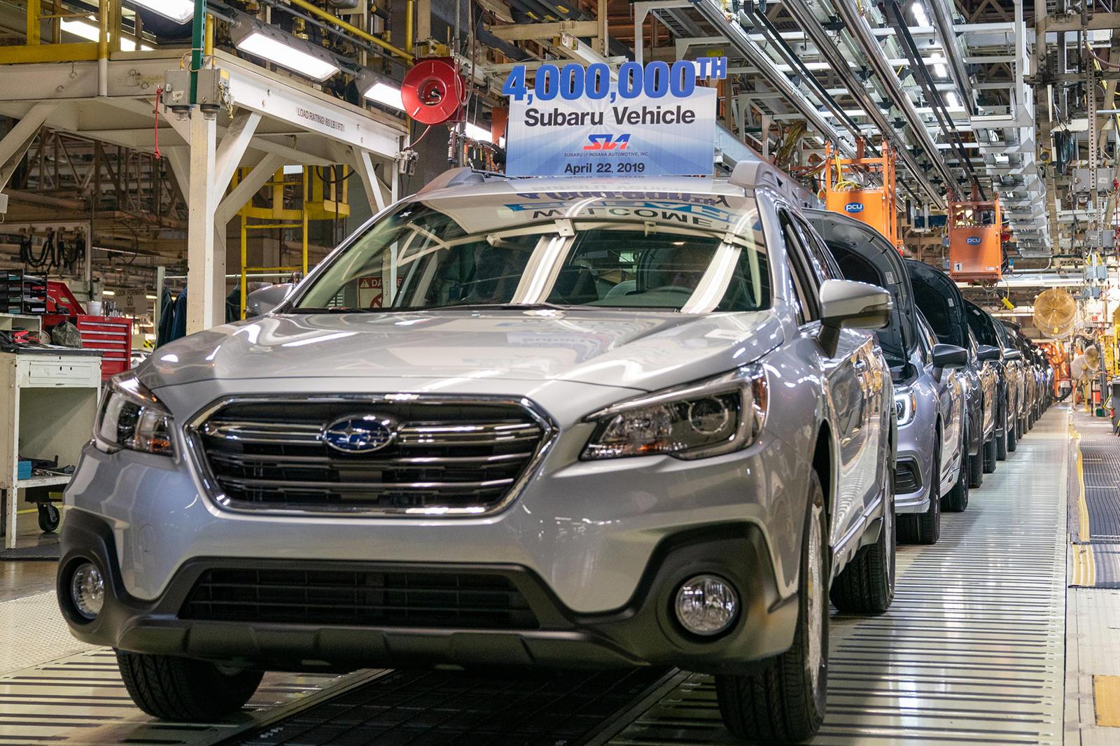 Subaru Hits Major Production Milestone