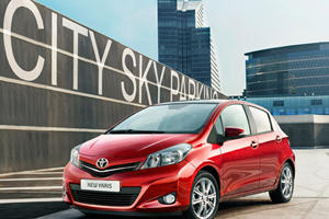 Official: 2012 Toyota Yaris Hits European Market