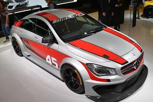 Mercedes CLA45 AMG Racing Series Concept Screeches into Frankfurt