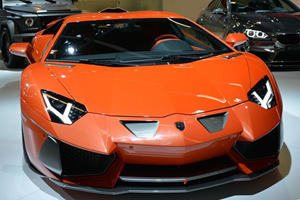 Hamann Nervudo is an Orange Lamborghini Aventador