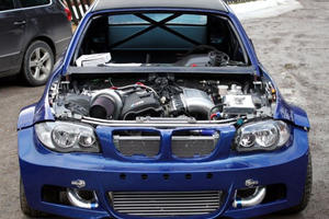Swede Tunes BMW 1 Series to 800 HP