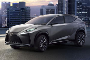 Lexus Reveals Turbocharged LF-NX Concept