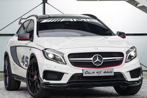 Mercedes Unveils Concept GLA45 AMG