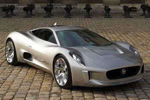 Jaguar C-X75 Forever a Dream