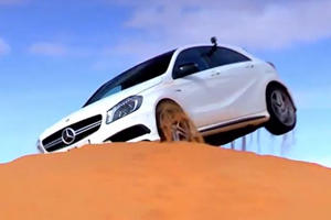 A45 AMG 4MATIC Goes Blazing in the Dunes