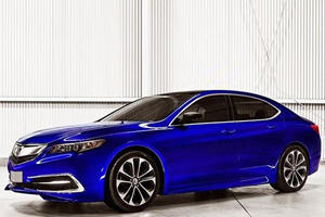 Acura TLX Will Leave Production Factory Looking Something Like This