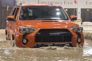 Toyota TRD Pro Lineup Charges into Chicago