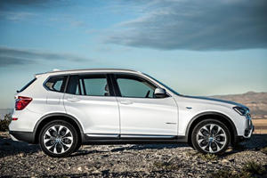 Facelifted BMW X3 Gains Diesel Engine and Discount RWD Model