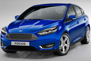 First Pics: 2015 Ford Focus Gets Fusion-Faced