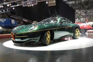 Touring Superleggera Disco Volante Restyled for Geneva 2014