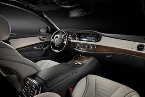 Mercedes S Class: The Best Way to Pamper Your Driver
