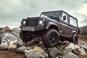 Icon Shoehorns 6.2-liter LS3 Unit into Land Rover Defender 90