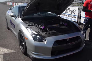 World's Fastest Nissan GT-R Clocks 7.81-Second Quarter-Mile