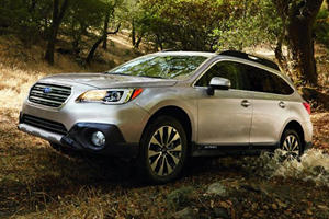 Subaru Outback Shows its New Face in New York