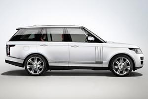 China: Range Rover LWB Gets Unique Hybrid-Diesel Setup