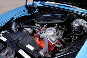 Auction: One-Off Carolina Blue 1969 Camaro Z28