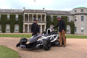 Ariel Atom 3.5R Destroys the Tarmac Ahead of Goodwood Debut