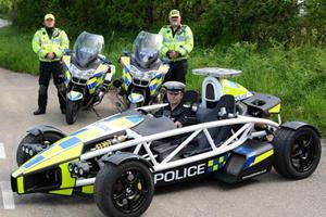 Forget Dubai: Coolest Cop Car is this UK Ariel Atom