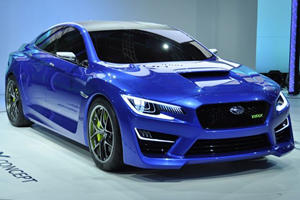 Next-Gen Subaru WRX STI To Become Sexy?